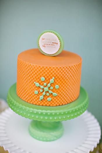 centerpiece cake