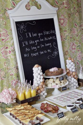 farmhouse party ideas, decorations,  chalkboard party labels, chalkboard party ideas