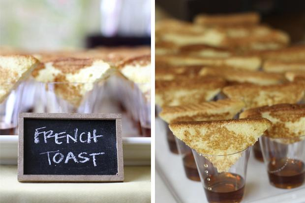 farmhouse party ideas, french toast treats