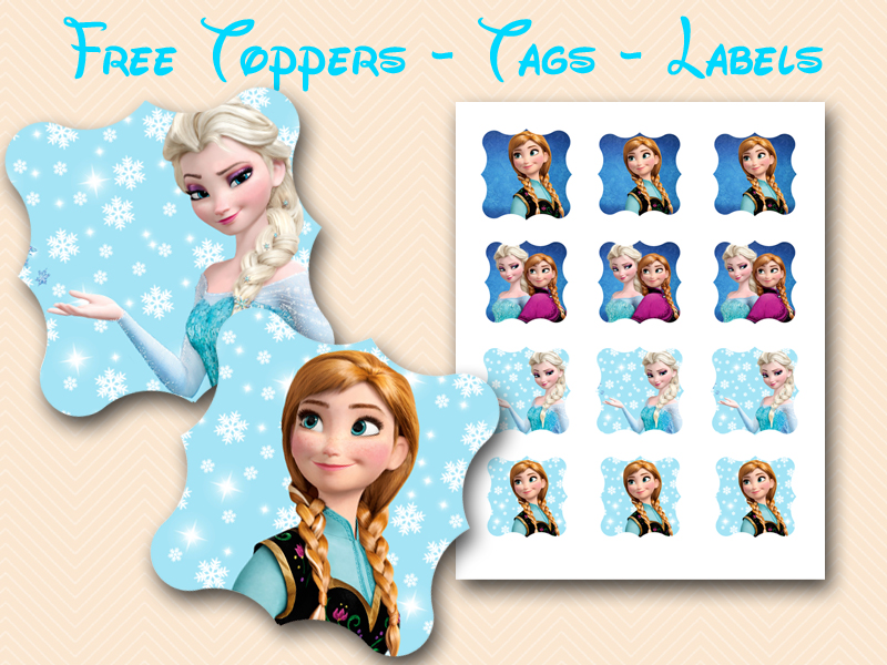 image relating to Frozen Party Food Labels Free Printable identified as Absolutely free Disneys FROZEN Printable - Kid Shower Recommendations - Themes