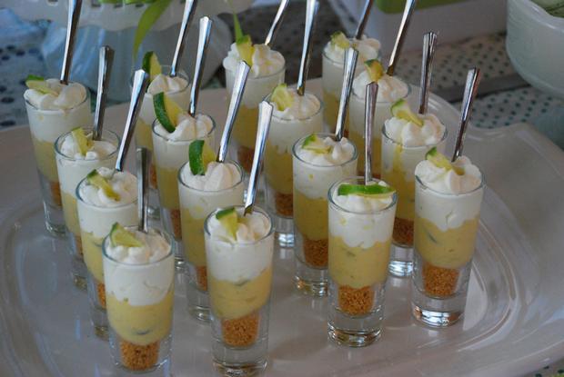 green pea pod dessert table ideas, desserts