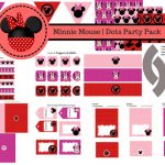 Free Minnie Mouse Baby Shower Printable