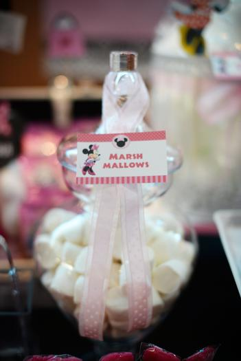 minnie mouse pink marshmallows