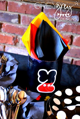 napkins Mickey Mouse Clubhouse Party