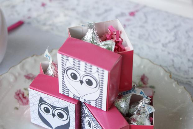 owl themed baby shower favors