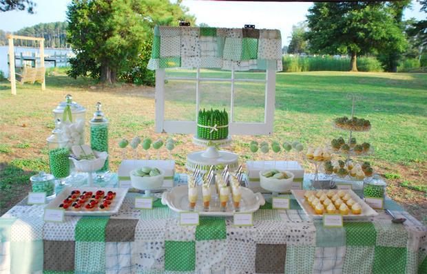 peas baby shower ideas, peas birthday party idea