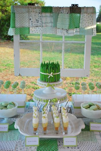 peas in a pod baby shower ideas
