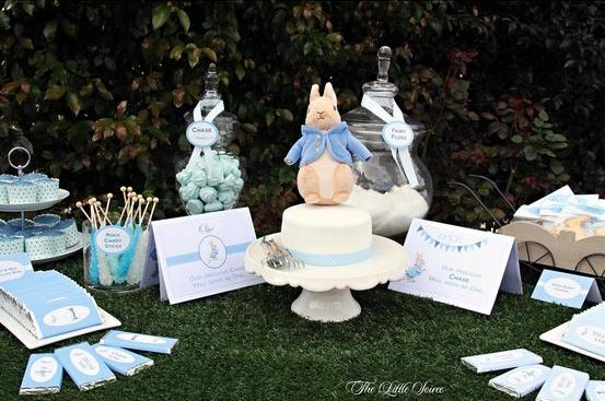 peter rabbit birthday party, peter rabbit party ideas