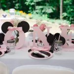 Pink Minnie Mouse First Birthday