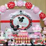 Baby Keira 1st Minnie Mouse Birthday Party