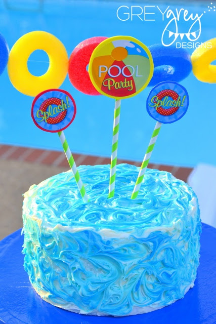 pool party decors