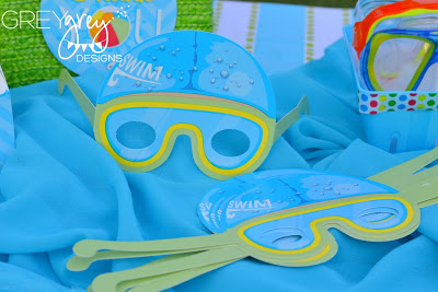 pool party goggles