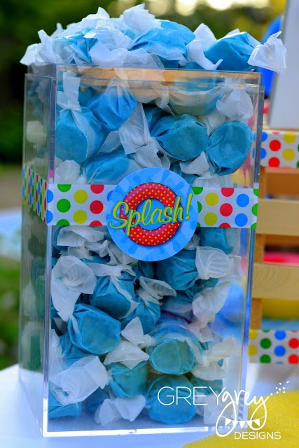 pool party treat ideas, spash treats