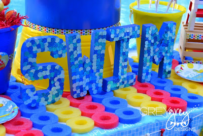 summer pool party decorations