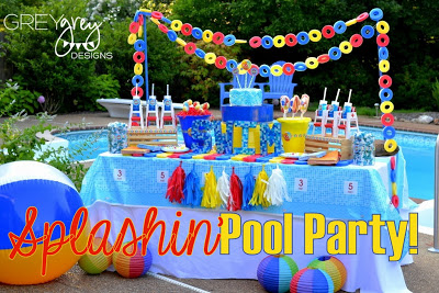 summer pool party ideas, summer pool party ideas