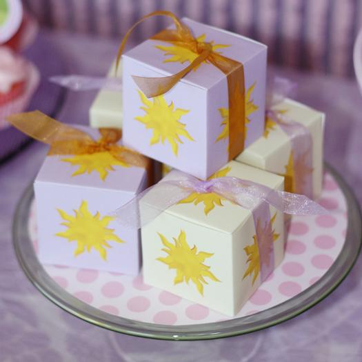 Tangled Sun Party Boxes