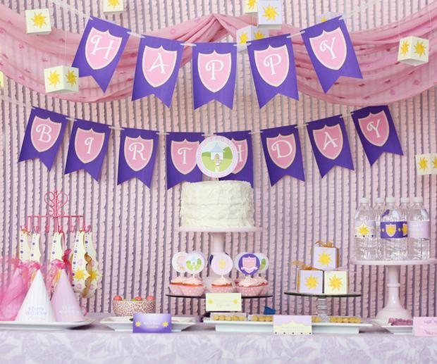 tangled princess birthday party ideas