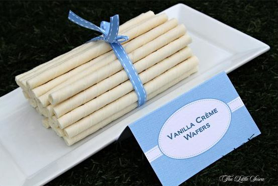 Peter Rabbit Baby Shower Vanilla Creme Wafers