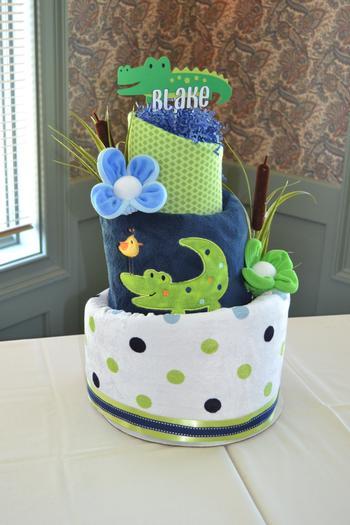 Alligator Baby Shower