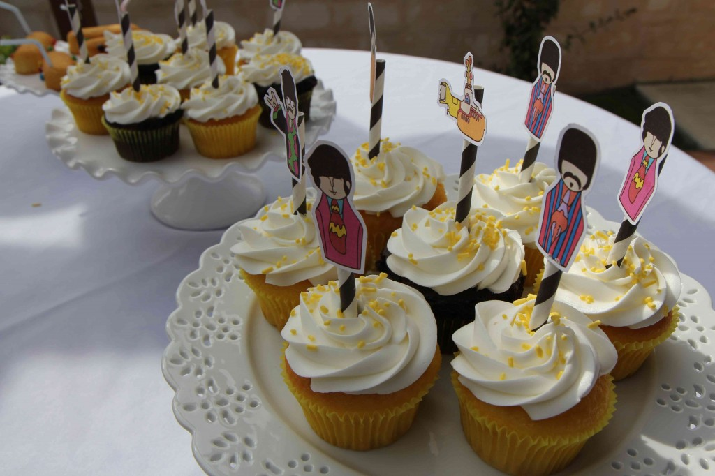 Beatles-Cupcakes