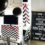 Black and White Gender Reveal Party
