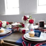 British Inspired Baby Shower