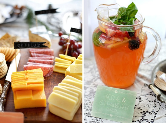 french baby shower food ideas 2