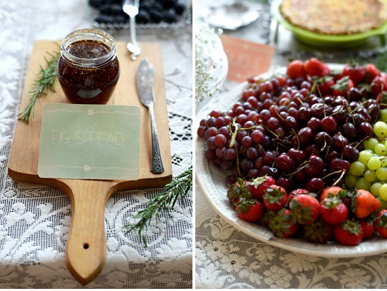 french baby shower food ideas