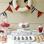 Red and Blue Nautical Party