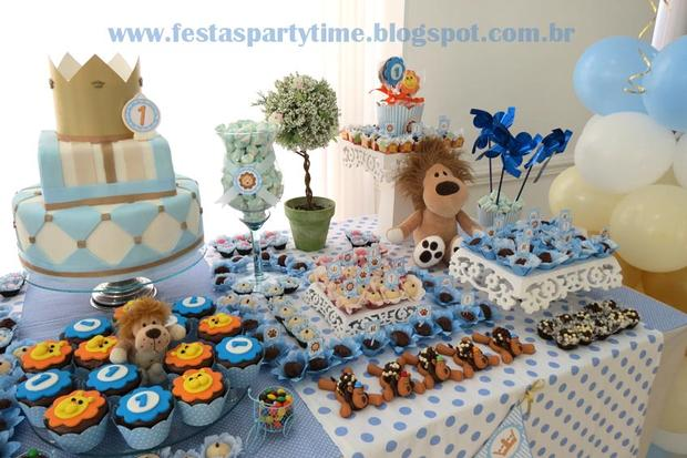 lion king birthday party treats