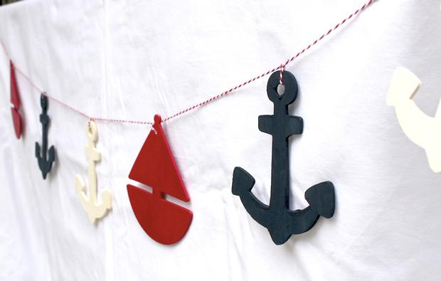 nautical themed party decorations, nautical themed baby shower