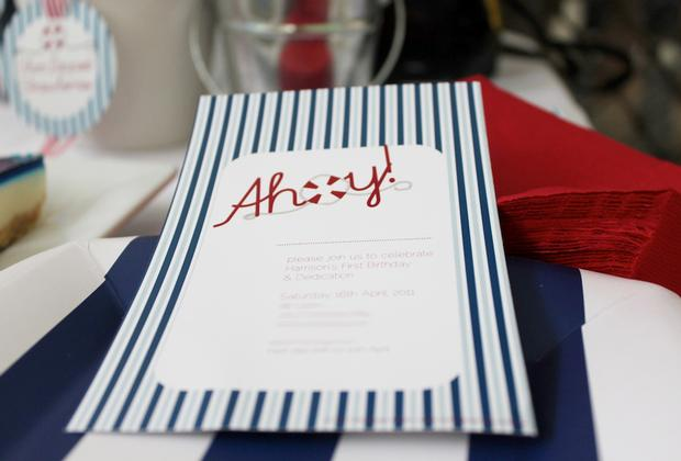nautical themed party invitations