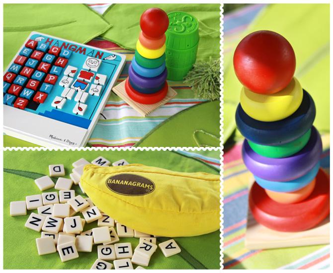 sock monkey birthday games