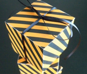 How to Make a Simple DIY Favor Box with FREE Template