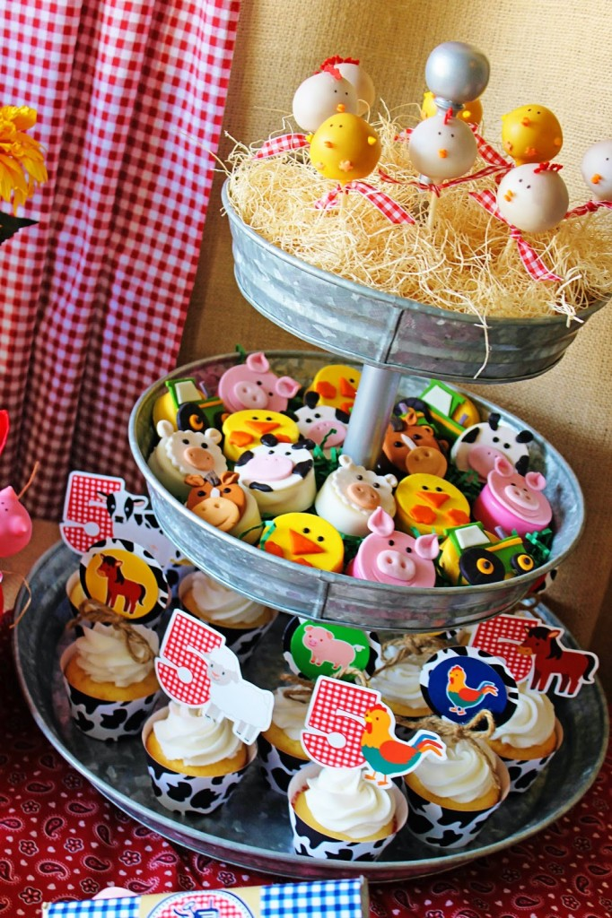 little chicks and ducks cake pops on hay