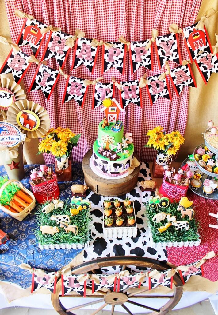 Cute Farm Party - Farm Animal Baby Shower Ideas