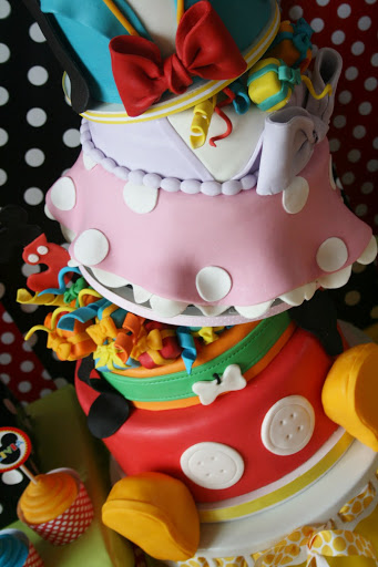 disney birthday party cake
