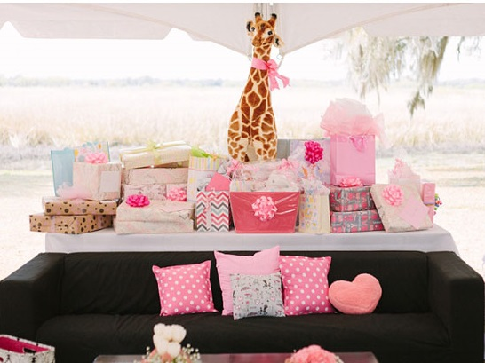 outdoor baby shower, southern baby shower gifts