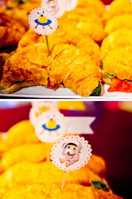 outer space baby shower food 1