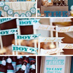 Clock Themed Baby Shower – Gender Reveal