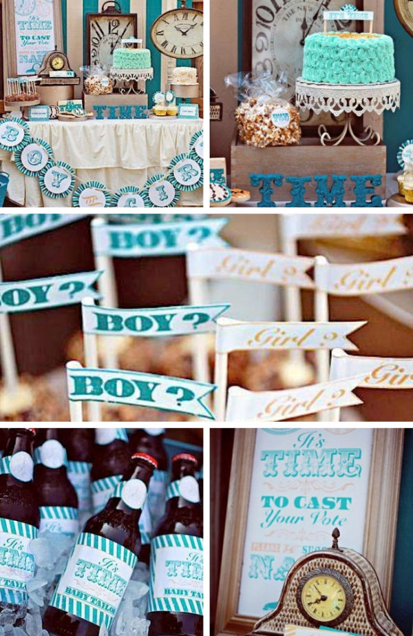 around-the-clock-gender-reveal-party