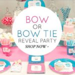 Bow or Bow Tie Gender Reveal
