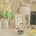 Green and Yellow Baby Shower