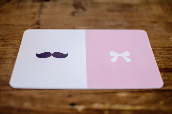 Mustaches and Bows Baby Shower