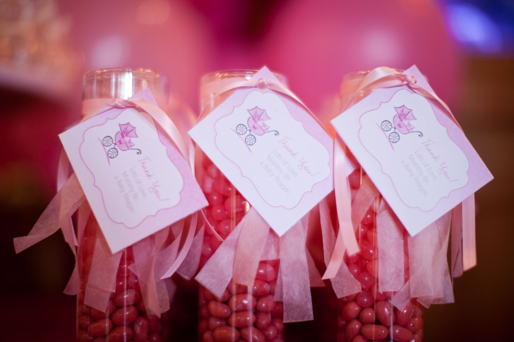 Pink Ombre Baby Shower favor