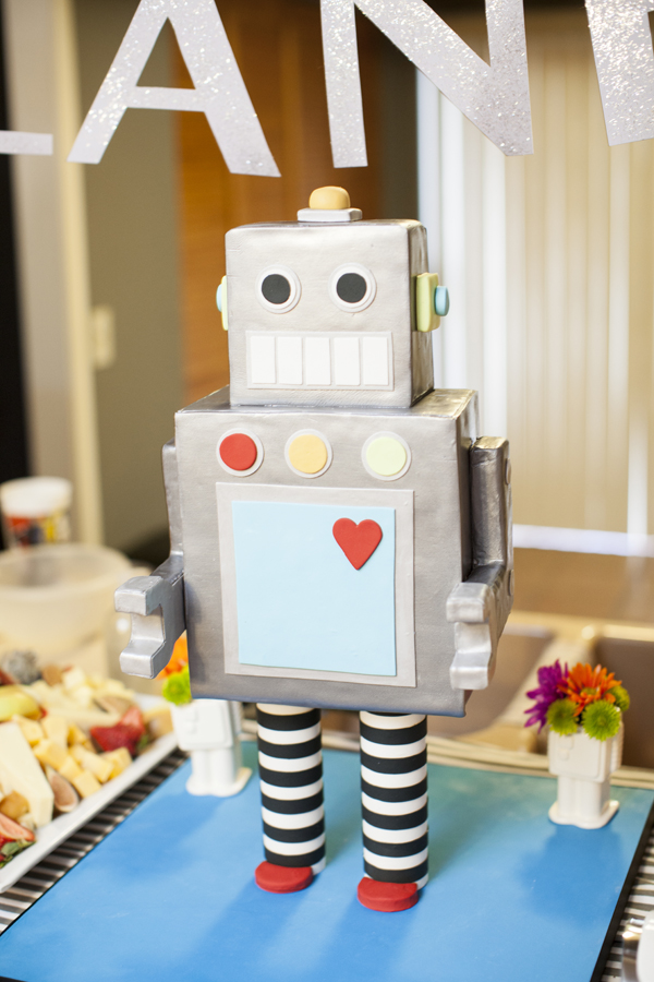 Robot Theme Baby Shower (2)