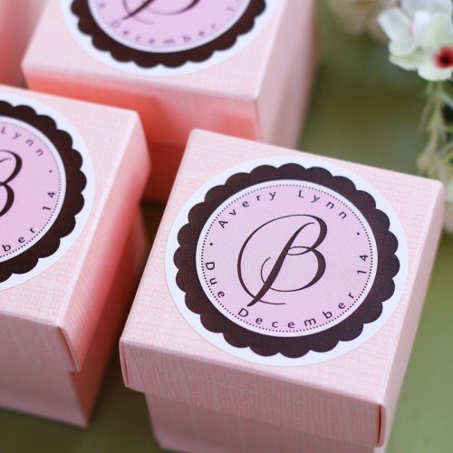 parisian baby shower favors