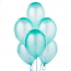 tiffany baby shower balloons