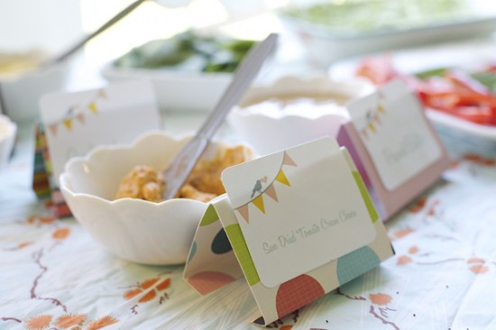 Bird & Bunting Baby Shower decorations and food (6)