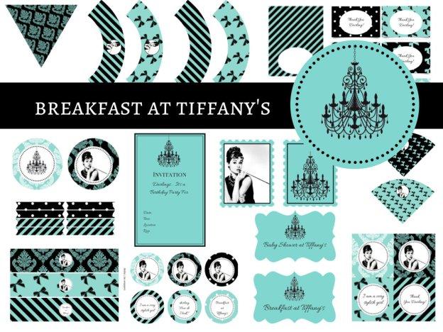 Breakfast at Tiffany's Baby Shower, Breakfast at Tiffany's